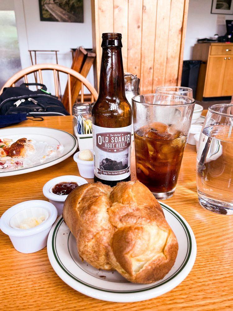 Jordan Pond House Restaurant: 2928 Park Loop Rd, Seal Harbor, ME