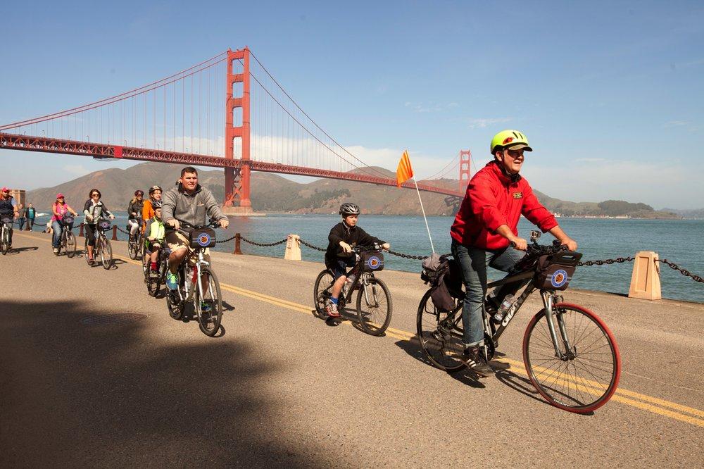 Bay City Bike Rentals and Tours: 2661 Taylor St, San Francisco, CA