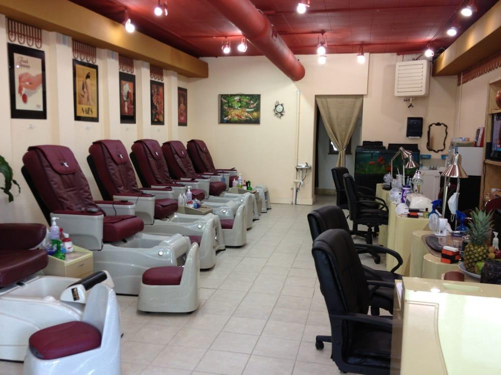 Nail spa birmingham al highland nails nail salons 2915 for 6 salon birmingham