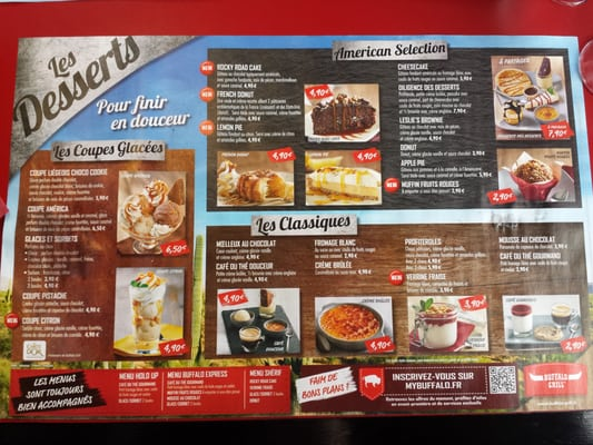 Buffalo Grill Carte Boisson.Buffalo Grill Restaurant 23 Avis Francais 4 Impasse