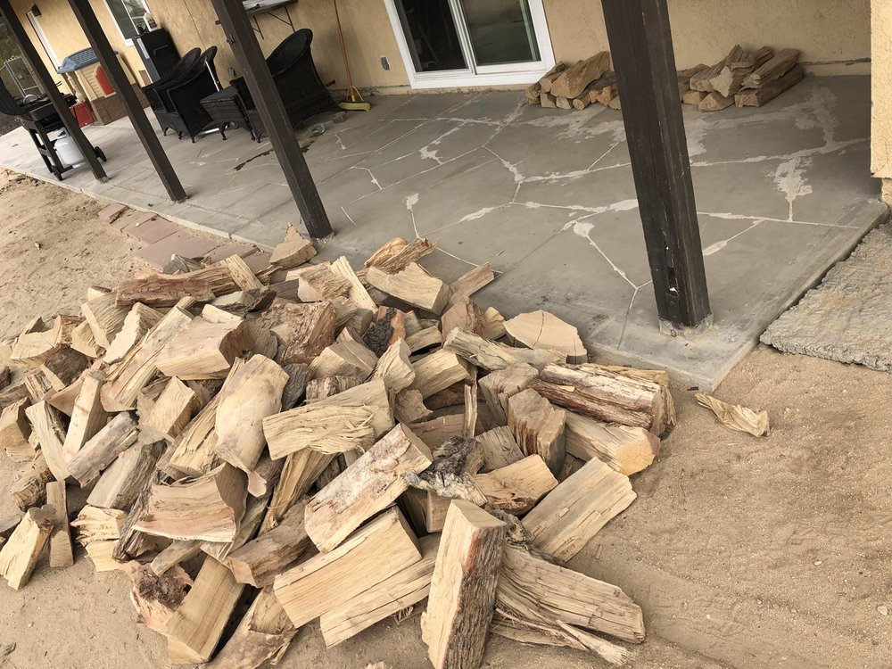 Blue Mountain Firewood: 32862 Old Women Springs Rd, Lucerne Valley, CA