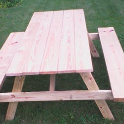 Photo Of On The Hill   Kenosha, WI, United States. Standard Picnic Table
