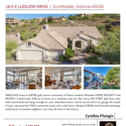 Keller Williams Sonoran Living : Cynthia Plungis - Keller Williams Sonoran Living - Real ...