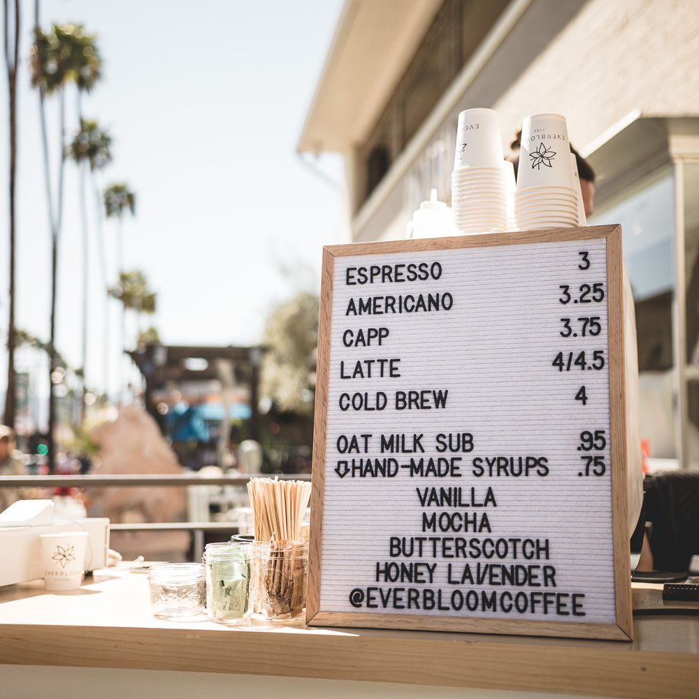 Everbloom Coffee: 81730 CA-111, Indio, CA