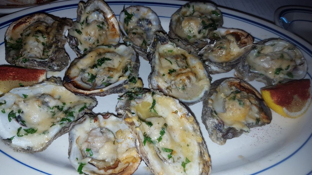 Charbroiled oysters. Happy Hour. - Yelp
