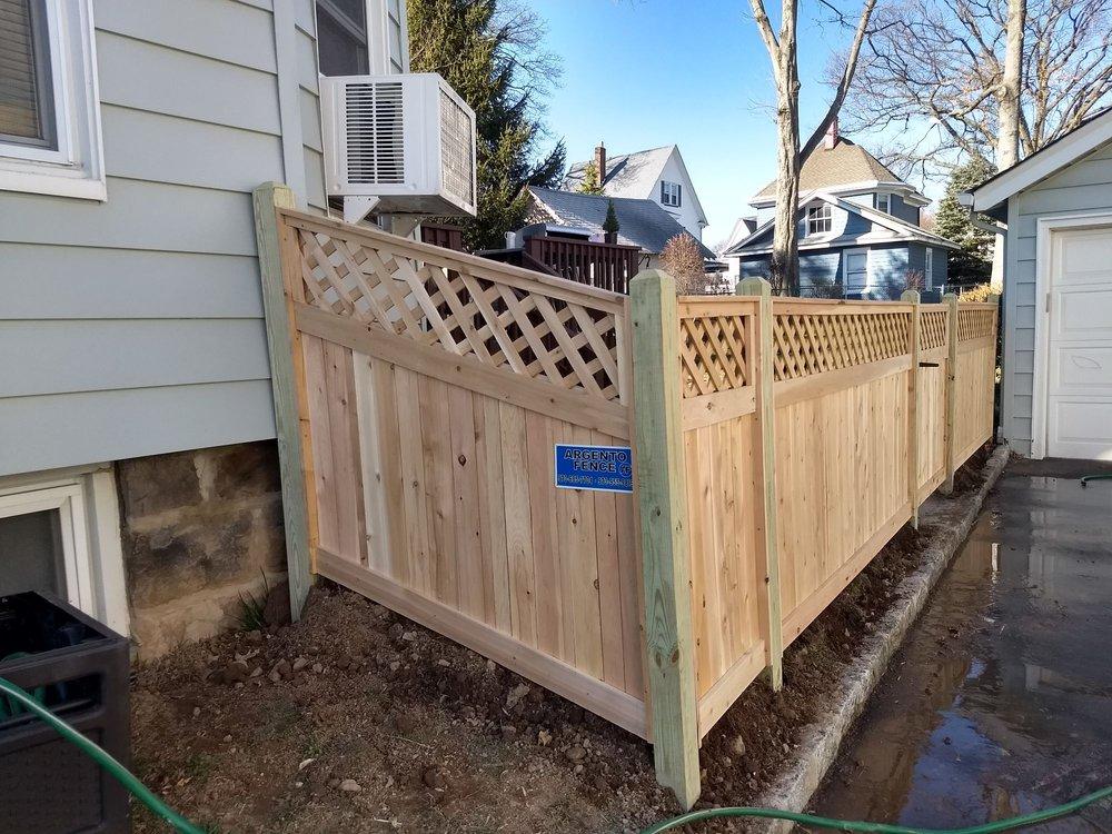 Argento Fence: 180 Hazel St, Clifton, NJ