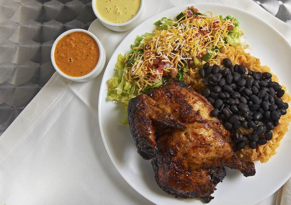 Flame Urban Chicken Grill: 10330 Saint Clair Ave, Cleveland, OH