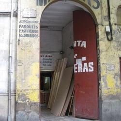 Fustes p rez ares material de construcci n el raval - Fusteria barcelona ...