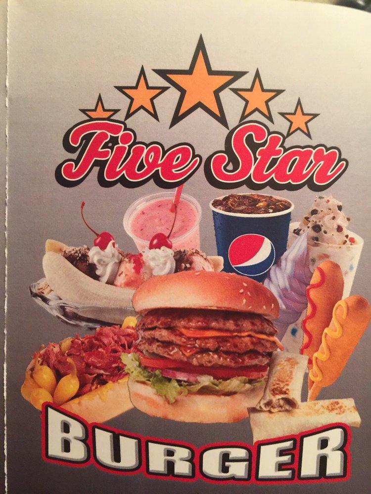 Five Star Burgers: 1725 Yosemite Pkwy, Merced, CA