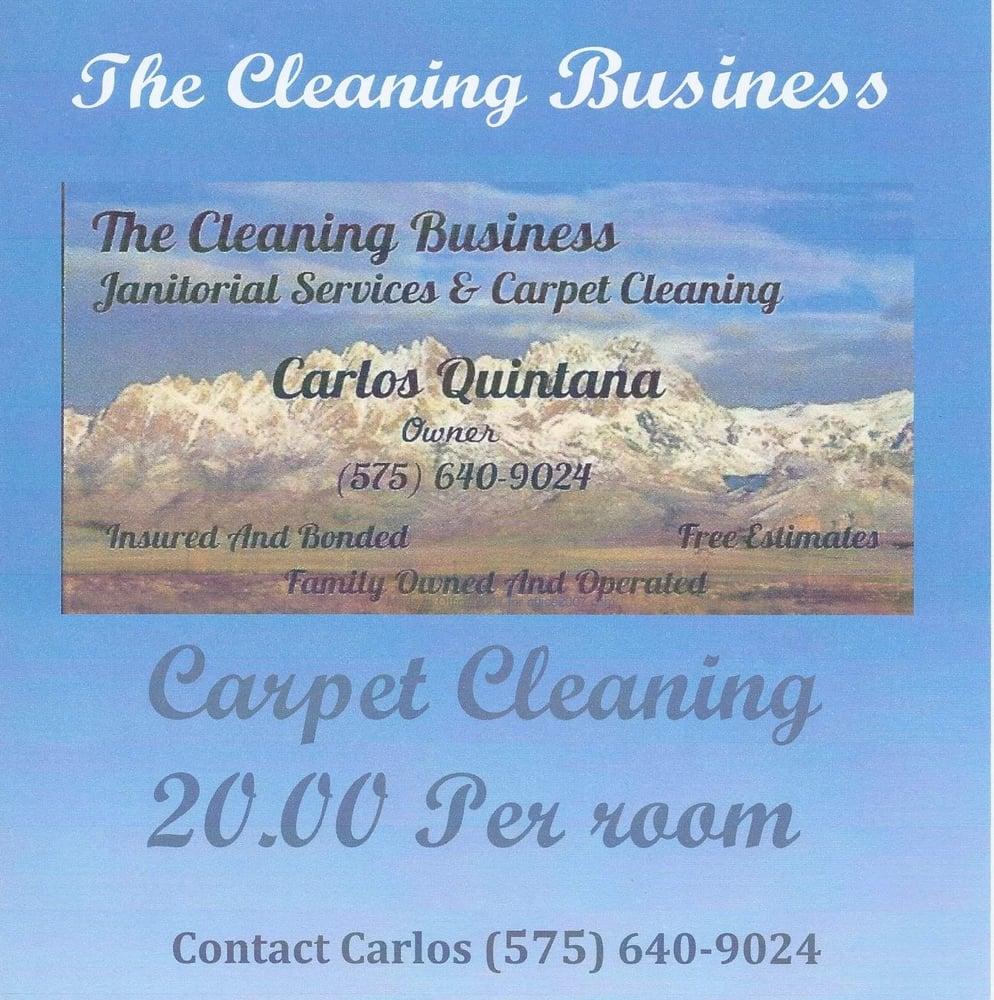 The Cleaning Business: 1421 Durazno St, Las Cruces, NM