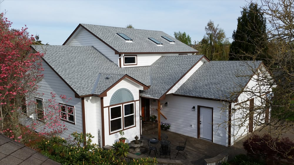 Photo Of Slate U0026 Slate Roofing   Salem, OR, United States. Residential  Composition
