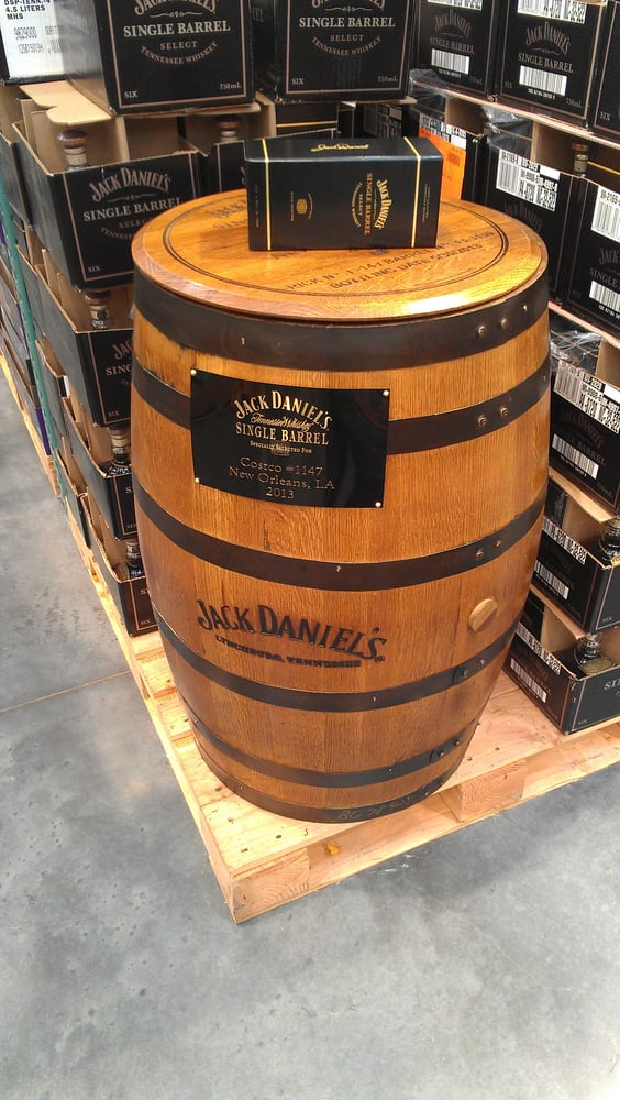 A barrel of Jack Daniels for sale. The price is $11,199 ...