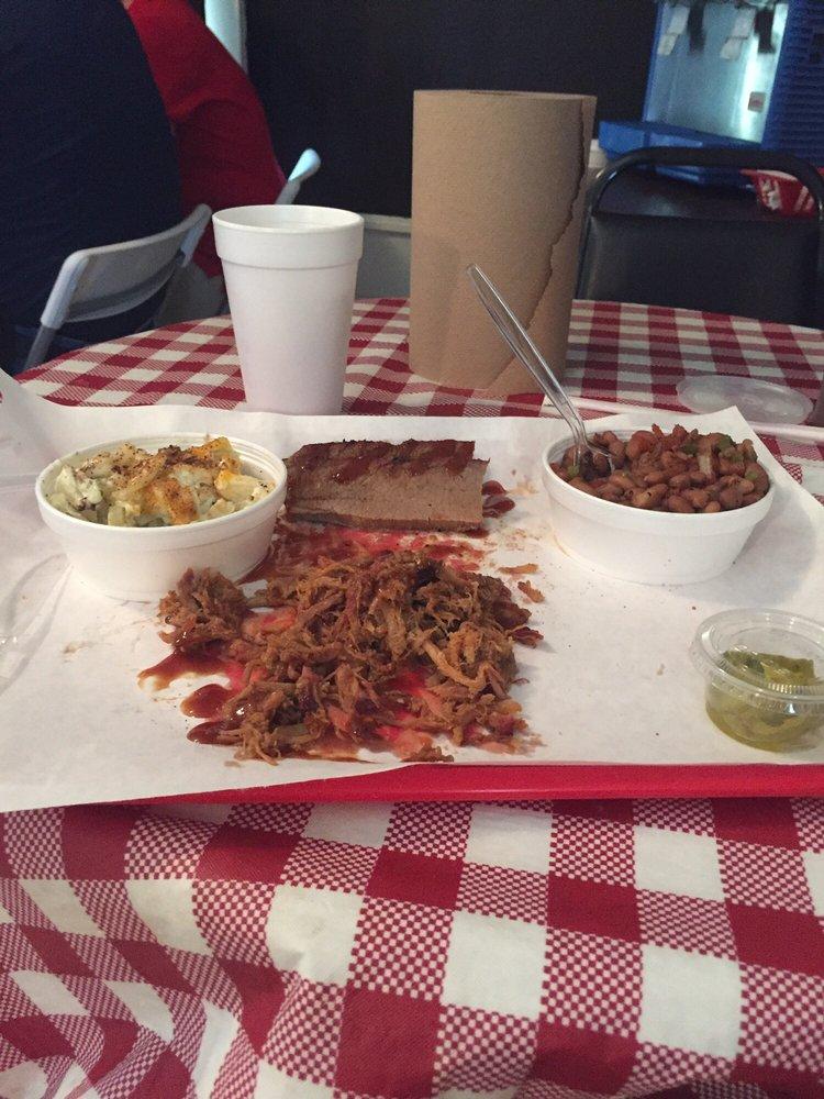 Rock Bottom BBQ: 409 3rd St, Graham, TX