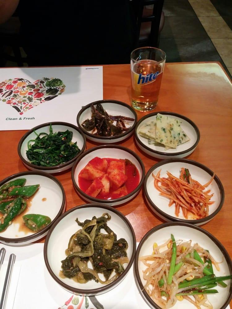 Dong nae gil 53 foto cucina coreana gardena ca for Cucina coreana