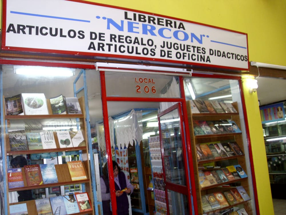 Librer a nerc n librer as eyzaguirre 574 san bernardo rm santiago yelp - Libreria couceiro santiago ...