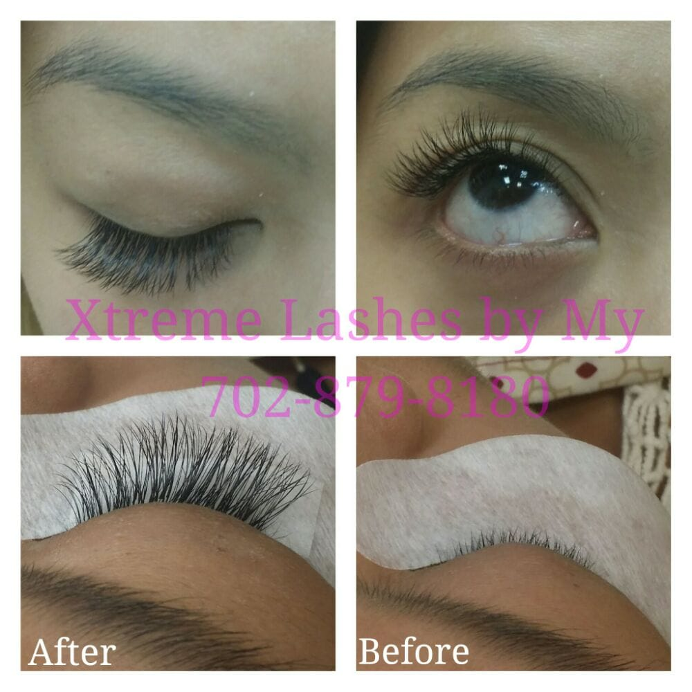 4d6be5a4a50 Photo of Nails By My - Las Vegas, NV, United States. Eyelashes Extension