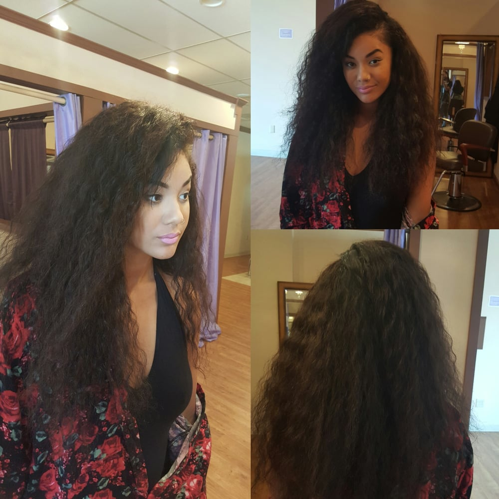 Recording Artist Audrey Rose Loves To Get Her Sew In Extensions