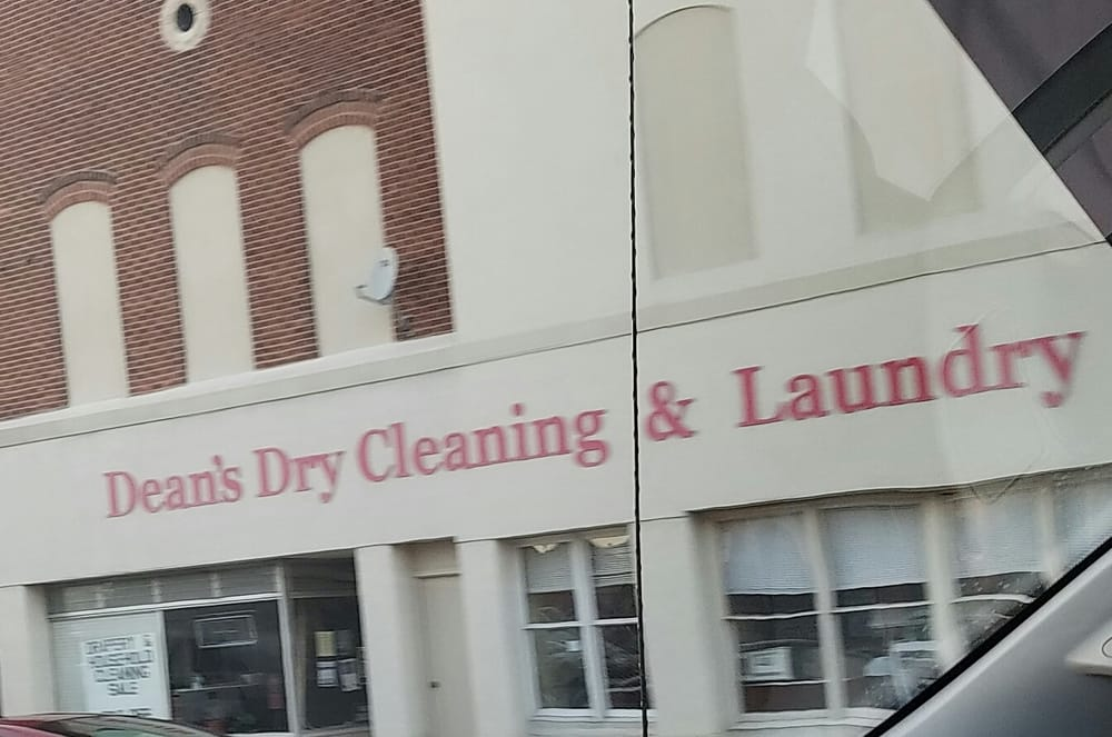 Deans Dry Cleaning & Laundry: 20 W Broadway St, Shelbyville, IN