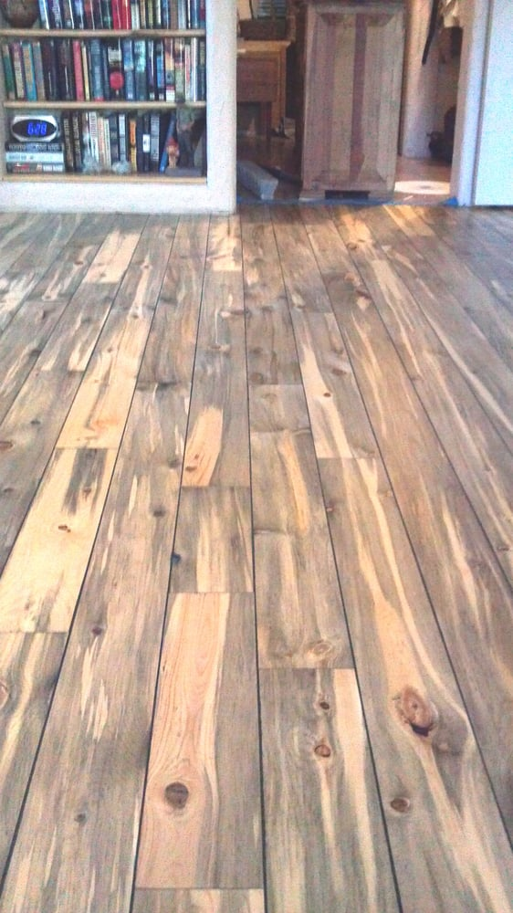 Rocky Mtn Blue Pine BETTER Line Of TG Flooring With Mico - Affordable flooring denver