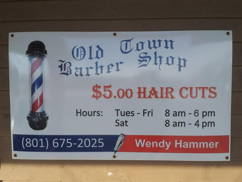 Old Town Barber Shop: 5460 E 2200th N, Eden, UT