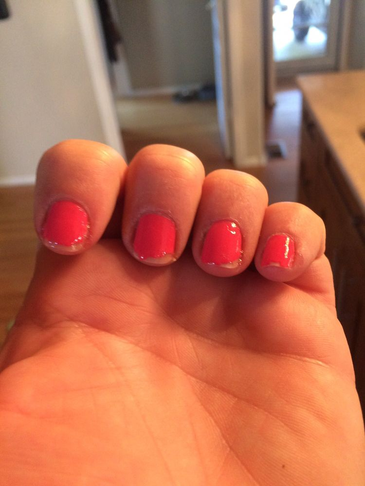 Every nail chipped and only 18 hours after my manicure - Yelp