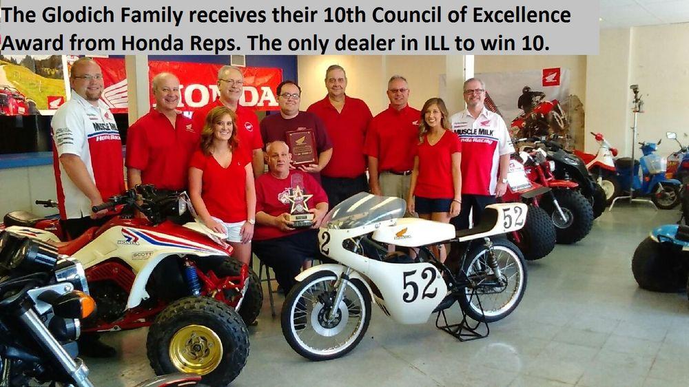 Glodich Bill Honda Sales & Serv-5 Sons & 2 Prncsss: 209 W Main St, West Frankfort, IL