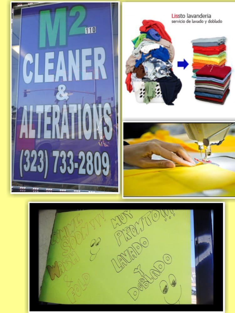 M2 Dry Cleaner & Alteration