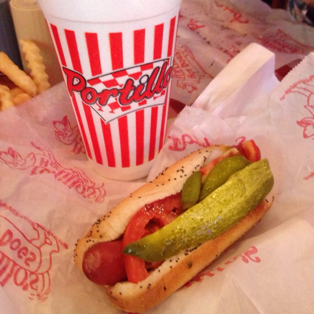 Photo Of Portillo S Hot Dogs Chicago Il United States Dog And