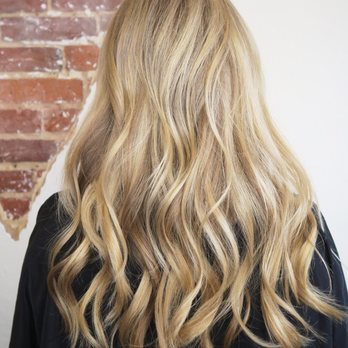 Partial Balayage Highlights To Brighten Up Her Natural