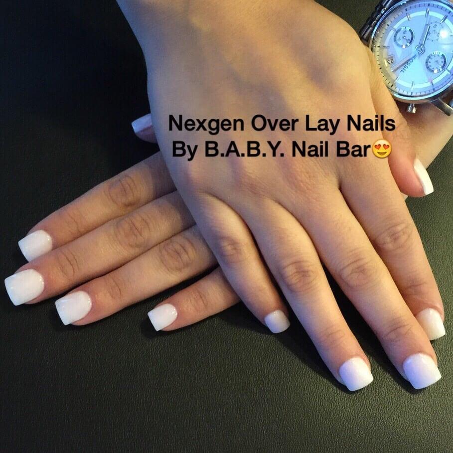 The Nail Bar Miami: Nexgen Nails In White Powder. Primer Free & Ordor Free