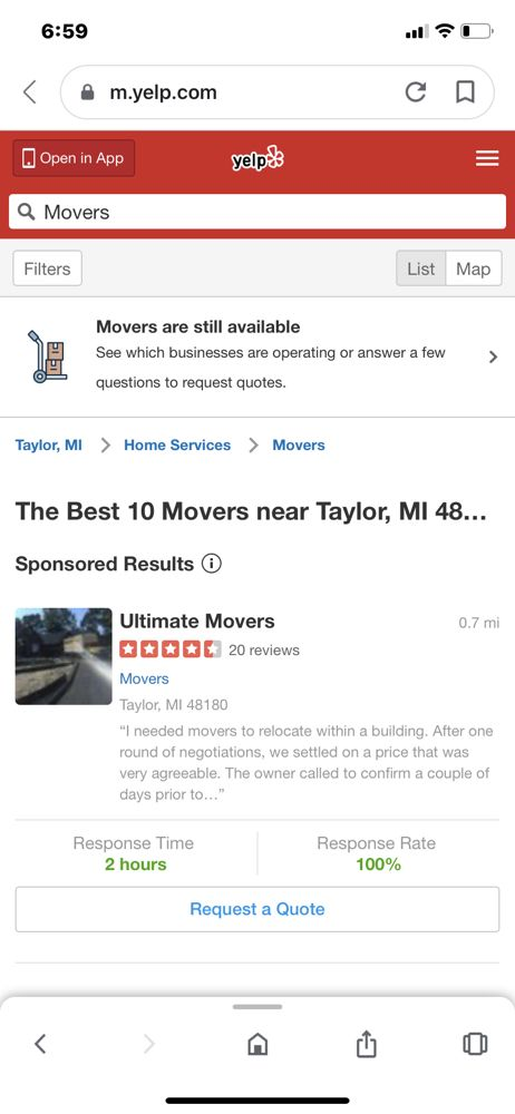 Ultimate Movers: Taylor, MI