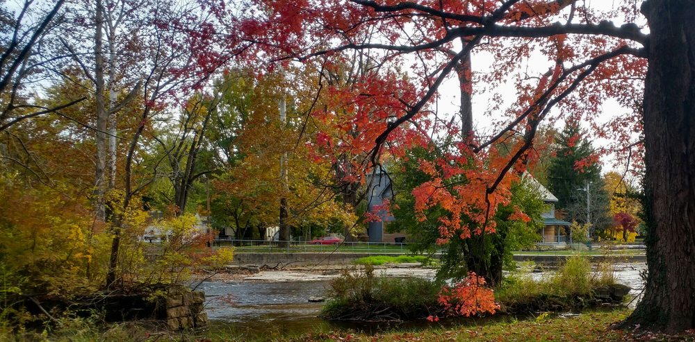 Pendleton Falls Park: 299 Falls Park Dr, Pendleton, IN