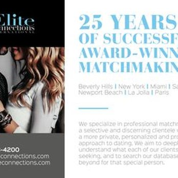Elite matchmaking Miami publicité site de rencontre