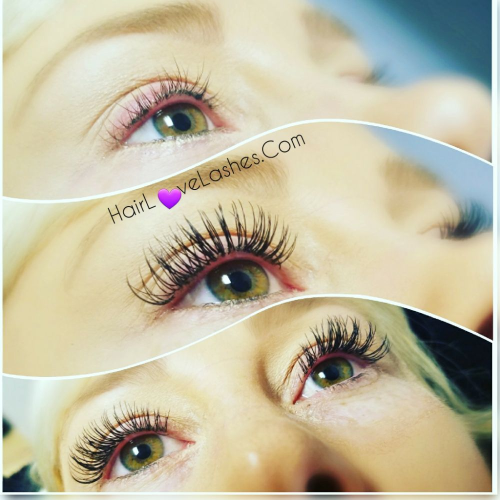 Before And After Classic Eyelash Extensions C And D Curls Yelp