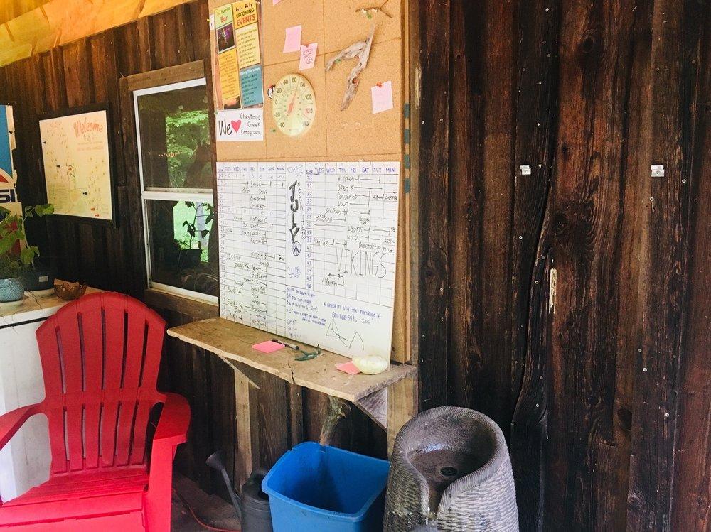 Chestnut Creek Campground: 186 Chestnut Creek Campground Rd, Lansing, WV