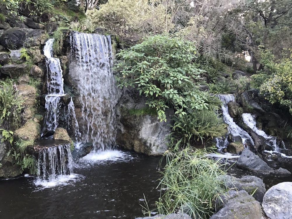 Waterfalls By The Korean Garden Yelp