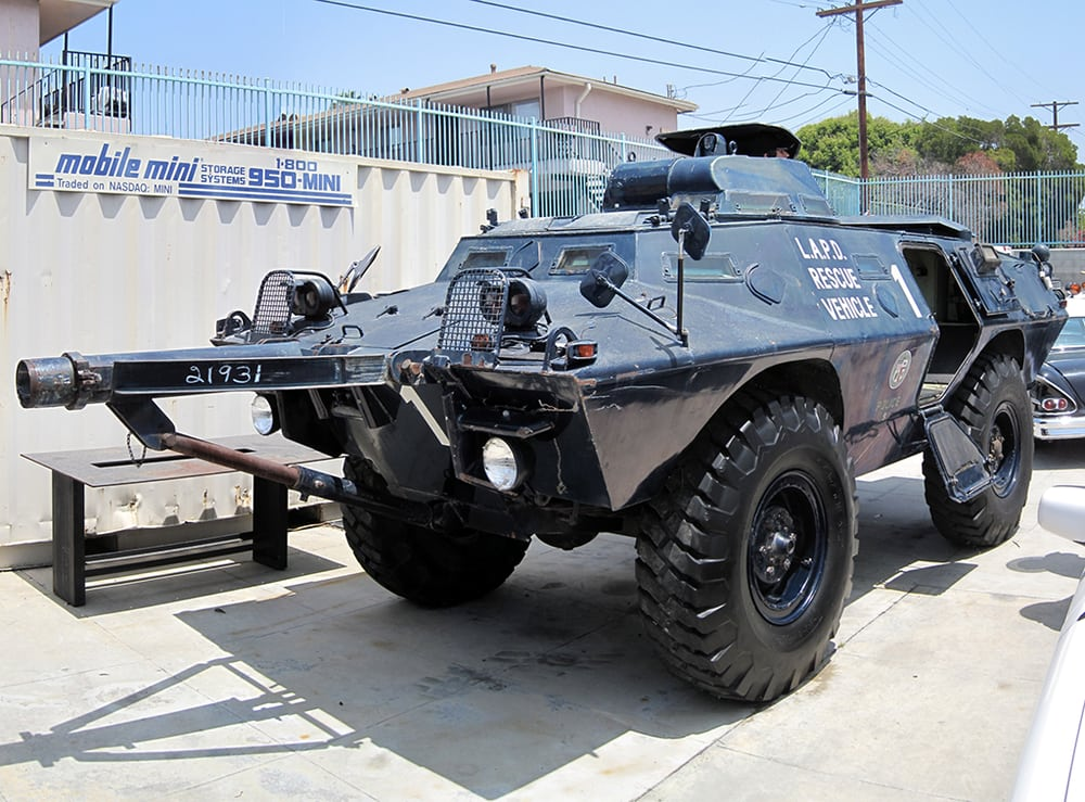 Armored Vehicles For Sale >> LAPD V-100 Armored Rescue Vehicle (front, with battering ram). - Yelp