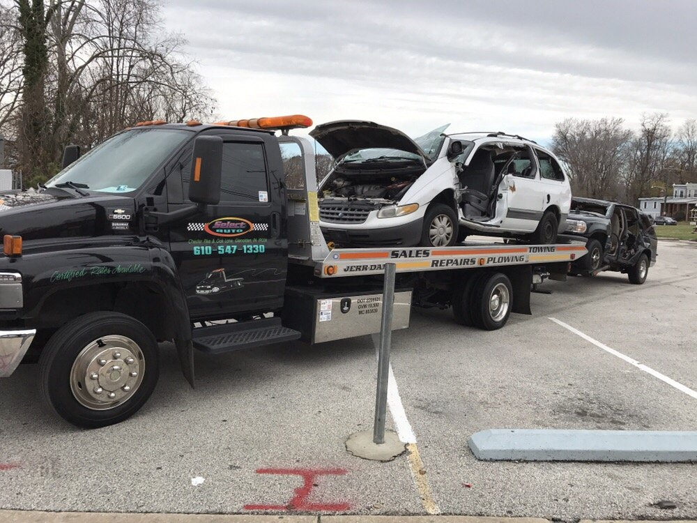 Select Auto Towing: 1571 N Chester Pike, Glenolden, PA