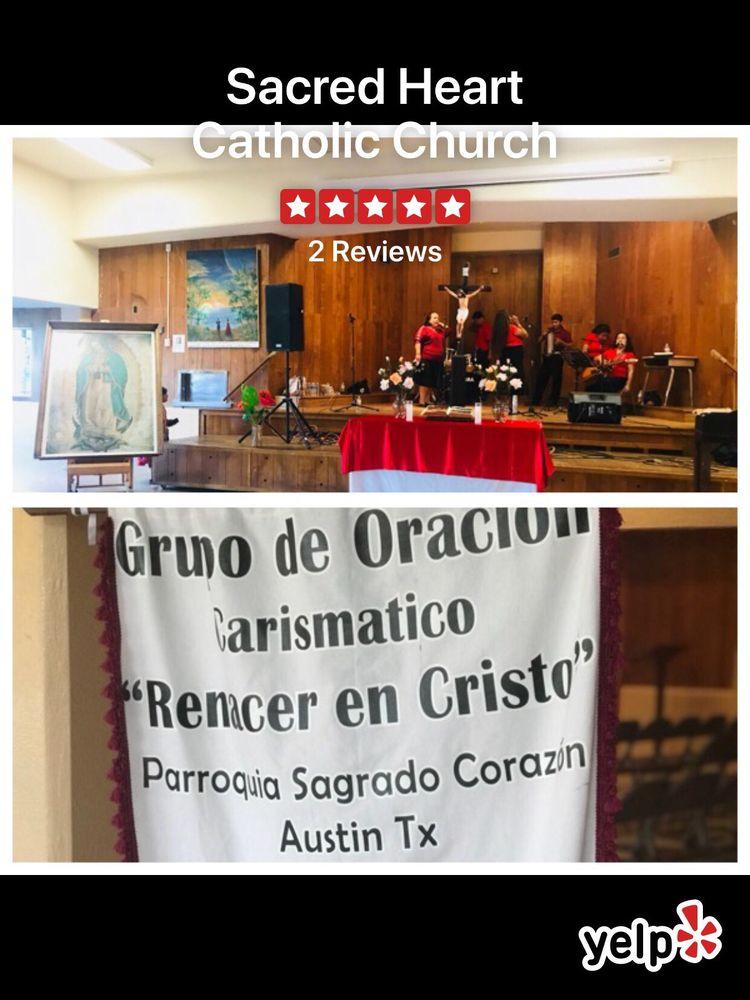 Sacred Heart Catholic Church: 5909 Reicher Dr, Austin, TX