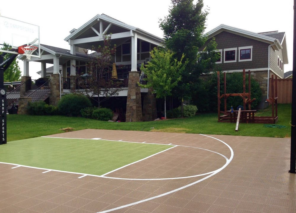 24 39 x 30 39 backyard basketball court yelp for Sport court utah