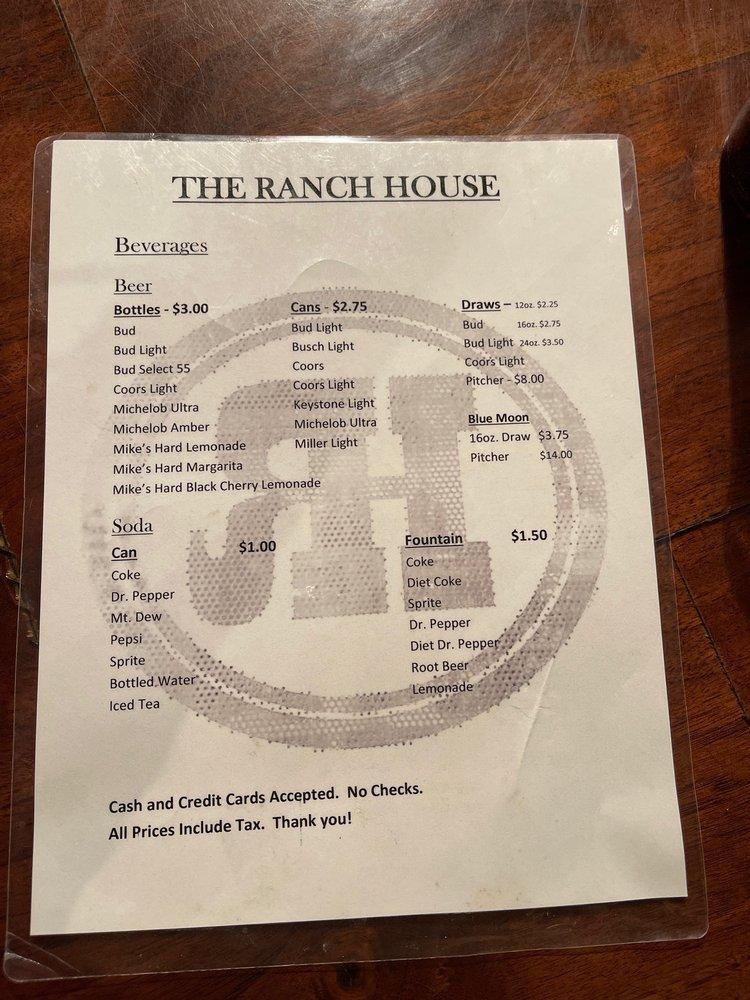 Tom's Ranch House: 111 N Washington St, Marquette, KS