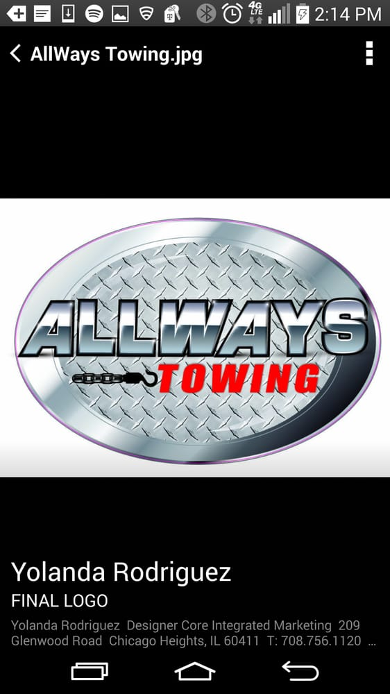 Towing business in Glenwood, IL