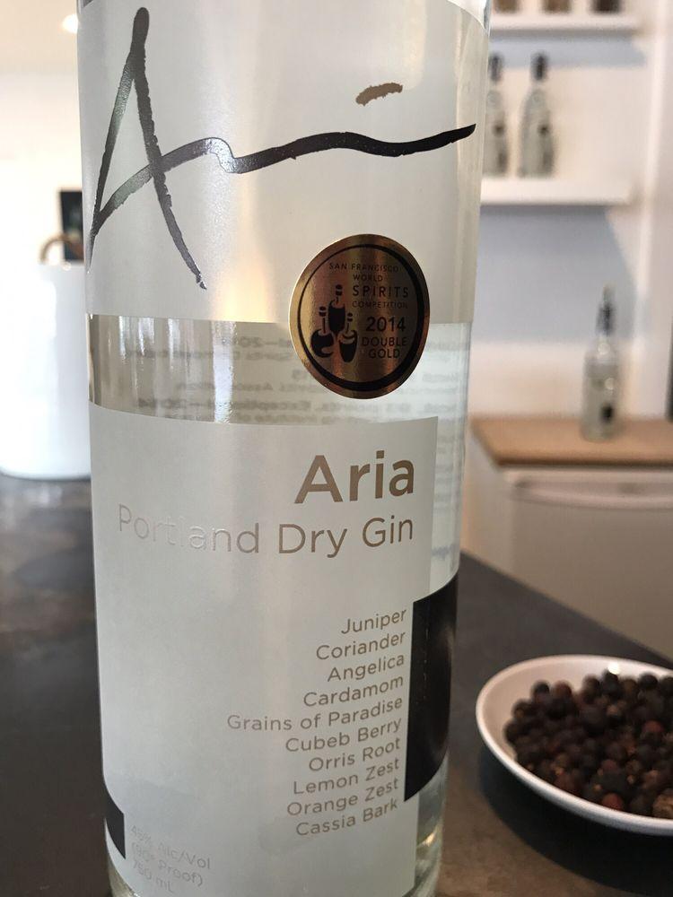 Aria Portland Dry Gin: 2304 NW Savier St, Portland, OR