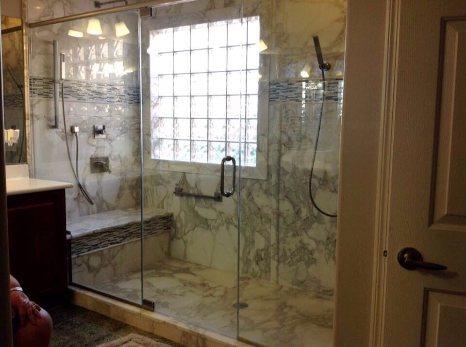 Photo of Re Bath Las Vegas  NV United States Remove tub and shower convert into one big walk in Yelp
