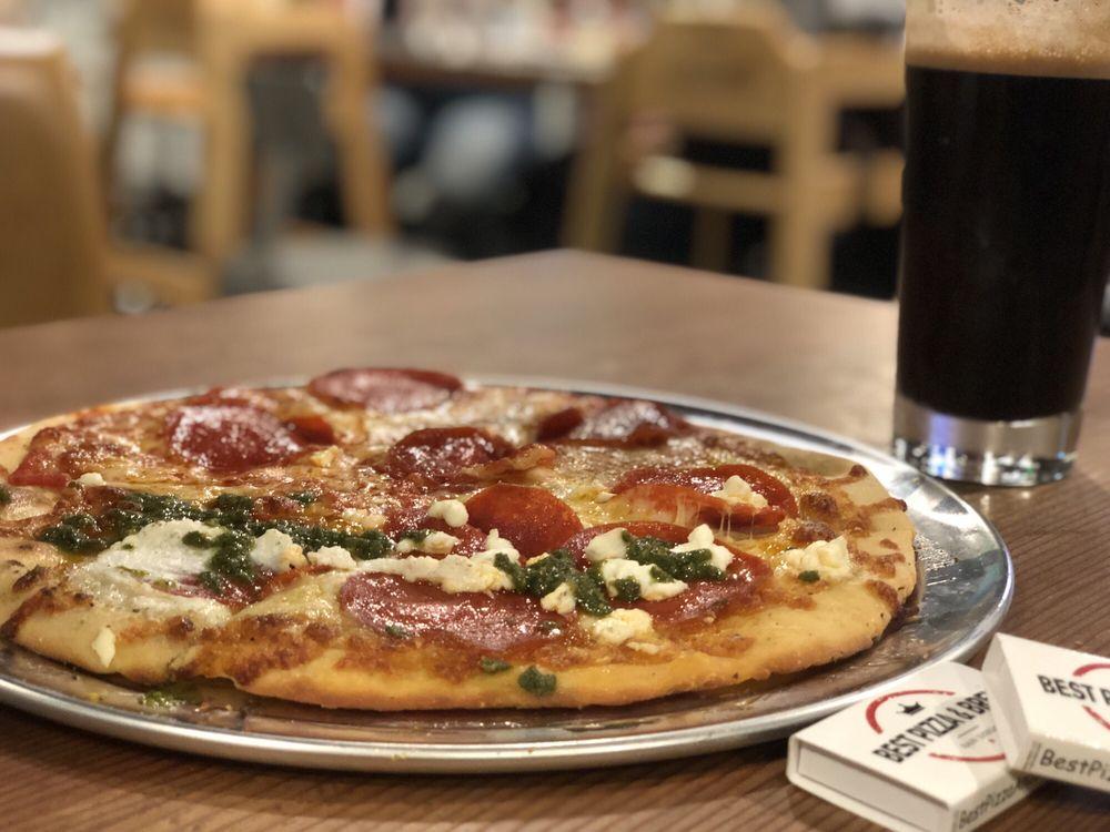 Best Pizza & Brew Oceanside: 1639 S Coast Hwy, Oceanside, CA