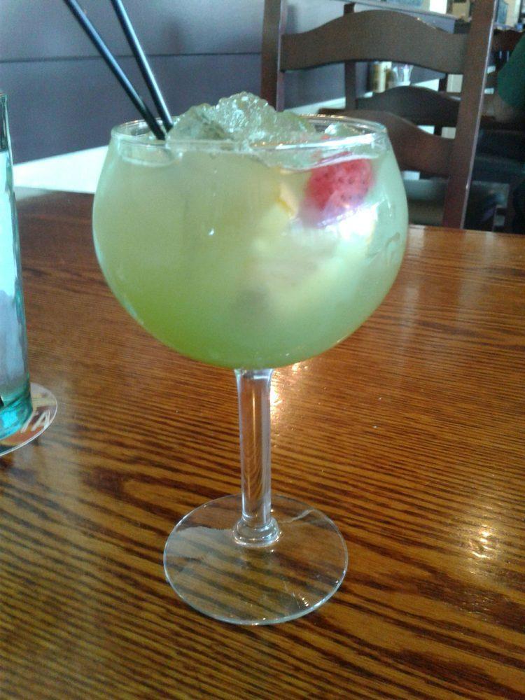 Green apple sangria. Yum! - Yelp