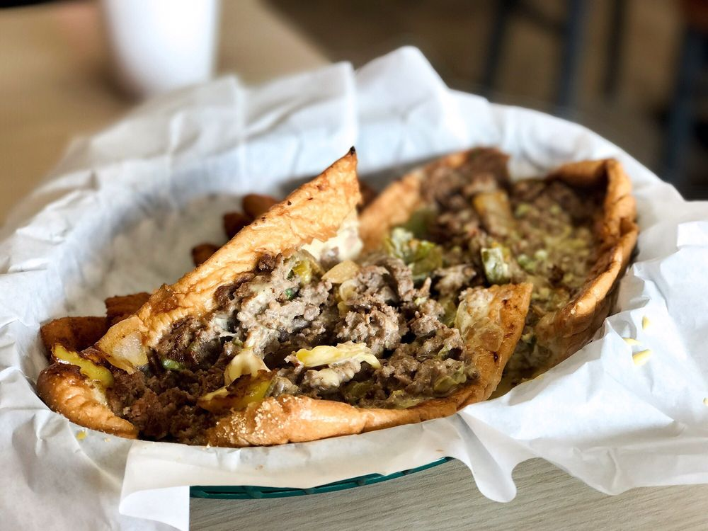 Cheesesteak House: 2015 W Davis St, Dallas, TX