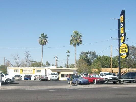 Maricopa Motors Bilforhandlere 704 W Main St Mesa Az