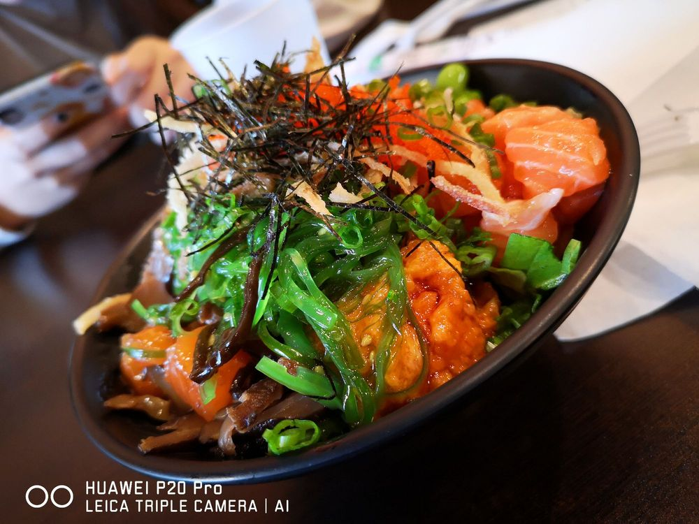 Food from Poke Fish