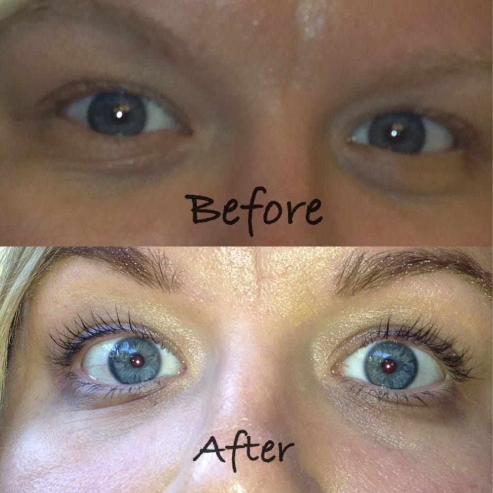 Before And After Photo Services Eye Lash Tint Eye Brow Tint